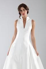 Drexcode - Wedding dress with neckline - Ilenia Sweet by Bellantuono - Rent - 4