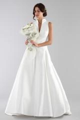 Drexcode - Wedding dress with neckline - Ilenia Sweet by Bellantuono - Rent - 2