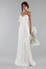 Drexcode - Wedding dress with removable flower  - Ilenia Sweet by Bellantuono - Rent - 6
