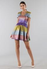 Drexcode - Multicolored glitter dress - Marco de Vincenzo - Rent - 2