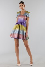 Drexcode - Multicolored glitter dress - Marco de Vincenzo - Sale - 2