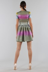 Drexcode - Multicolored glitter dress - Marco de Vincenzo - Rent - 4