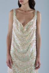 Drexcode - Dress in silver and gold sequins - Alcoolique - Sale - 6