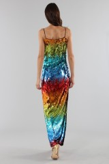 Drexcode - Dress in multicolored sequins - Alcoolique - Sale - 2