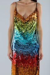 Drexcode - Dress in multicoloured sequins - Alcoolique - Rent - 5