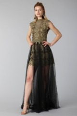 Drexcode - Lace dress with tulle skirt - Catherine Deane - Rent - 2