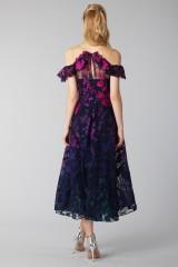 Drexcode - Longuette dress with transparent neckline - Marchesa Notte - Rent - 2