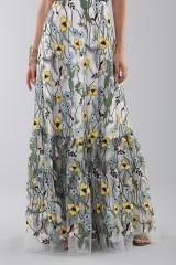 Drexcode - Long floral pattern dress - ML - Monique Lhuillier - Rent - 1