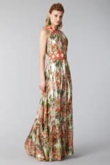 Drexcode - Long shiny dress with floral pattern - Piccione.Piccione - Rent - 6