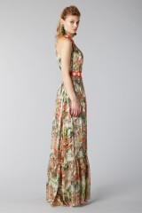Drexcode - Long shiny dress with floral pattern - Piccione.Piccione - Rent - 2