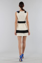 Drexcode - Embroidered dress with applied flowers - Emanuel Ungaro - Sale - 2