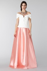 Drexcode - Complete pink skirt and white silk top - Tube Gallery - Rent - 3