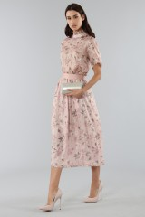 Drexcode - Top with sleeves and midi skirt  - Mother of Pearl - Rent - 2