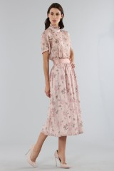 Drexcode - Top with sleeves and midi skirt  - Mother of Pearl - Rent - 7