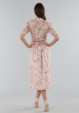 Drexcode - Top with sleeves and midi skirt  - Mother of Pearl - Sale - 3