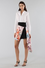 Drexcode - Asymmetric skirt with print - Fausto Puglisi - Rent - 6