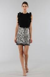 Drexcode - Sequins and rhinestones skirt - Aquilano Rimondi - Sale - 2