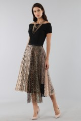 Drexcode - Pleated skirt with leopard - Antonio Marras - Rent - 4