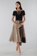 Drexcode - Pleated skirt with leopard - Antonio Marras - Rent - 3