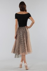 Drexcode - Pleated skirt with leopard - Antonio Marras - Rent - 5