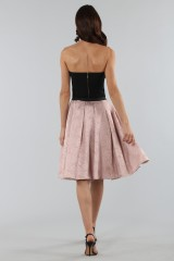 Drexcode - Pink skirt with pirnts.  - Antonio Marras - Sale - 2