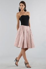 Drexcode - Pink skirt with pirnts.  - Antonio Marras - Sale - 3