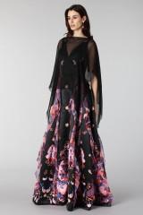 Drexcode - Black chiffon dress - Alberta Ferretti - Rent - 2