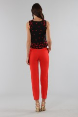Drexcode - Short polka dot top - Proenza Schouler - Rent - 4