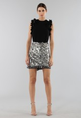 Drexcode - Black top with rouches - 3.1 Phillip Lim - Rent - 2