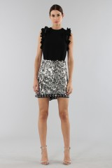 Drexcode - Black top with rouches - 3.1 Phillip Lim - Rent - 1