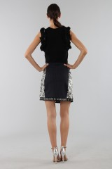 Drexcode - Black top with rouches - 3.1 Phillip Lim - Rent - 4