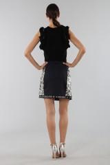 Drexcode - Sequins and rhinestones skirt - Aquilano Rimondi - Sale - 4