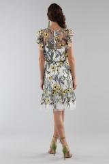 Drexcode - Floral pattern short dress - ML - Monique Lhuillier - Rent - 5