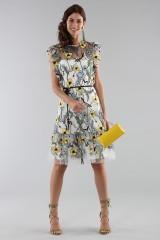 Drexcode - Floral pattern short dress - ML - Monique Lhuillier - Rent - 4