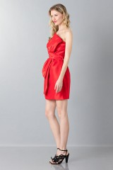 Drexcode - Silk bustier dress - Moschino - Sale - 4