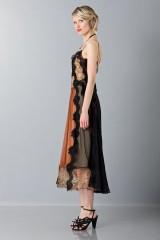 Drexcode - Lace and silk dress - Alberta Ferretti - Rent - 6