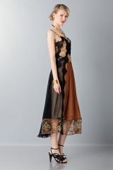 Drexcode - Lace and silk dress - Alberta Ferretti - Rent - 5