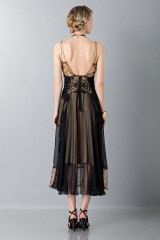 Drexcode - Lace and silk dress - Alberta Ferretti - Rent - 2