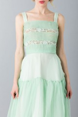 Drexcode - Green skirt and top - Rochas - Rent - 6