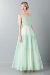 Drexcode - Green skirt and top - Rochas - Rent - 1