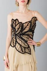 Drexcode -  Organza and chiffon dress - Alberta Ferretti - Rent - 6
