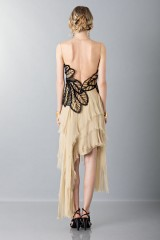Drexcode -  Organza and chiffon dress - Alberta Ferretti - Sale - 2