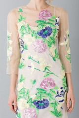Drexcode - Short dress with flowers and patterns - Blumarine - Rent - 5