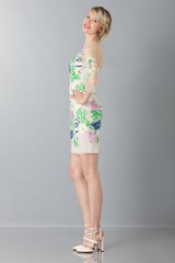 Drexcode - Short dress with flowers and patterns - Blumarine - Rent - 4