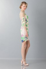 Drexcode - Short dress with flowers and patterns - Blumarine - Rent - 3