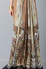 Drexcode - Ethinc floor-length dress - Alberta Ferretti - Sale - 8
