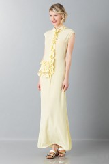 Drexcode -  Yellow tunic with ruches - Albino - Rent - 3