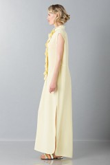 Drexcode -  Yellow tunic with ruches - Albino - Rent - 5