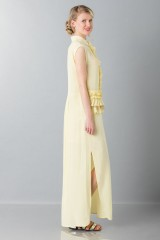 Drexcode -  Yellow tunic with ruches - Albino - Rent - 4