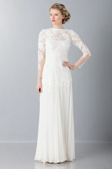 Drexcode - Embroidered wedding dress - Alberta Ferretti - Rent - 1
